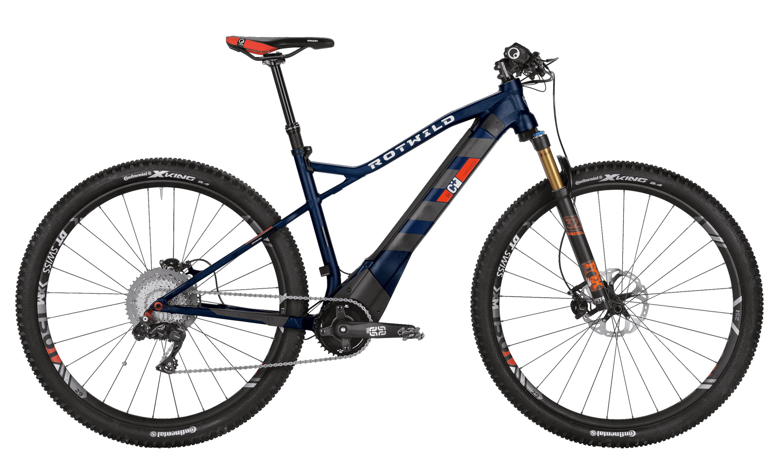 R.C+ HT 29 EVO - Blue matt - XL - bike´n soul Shop