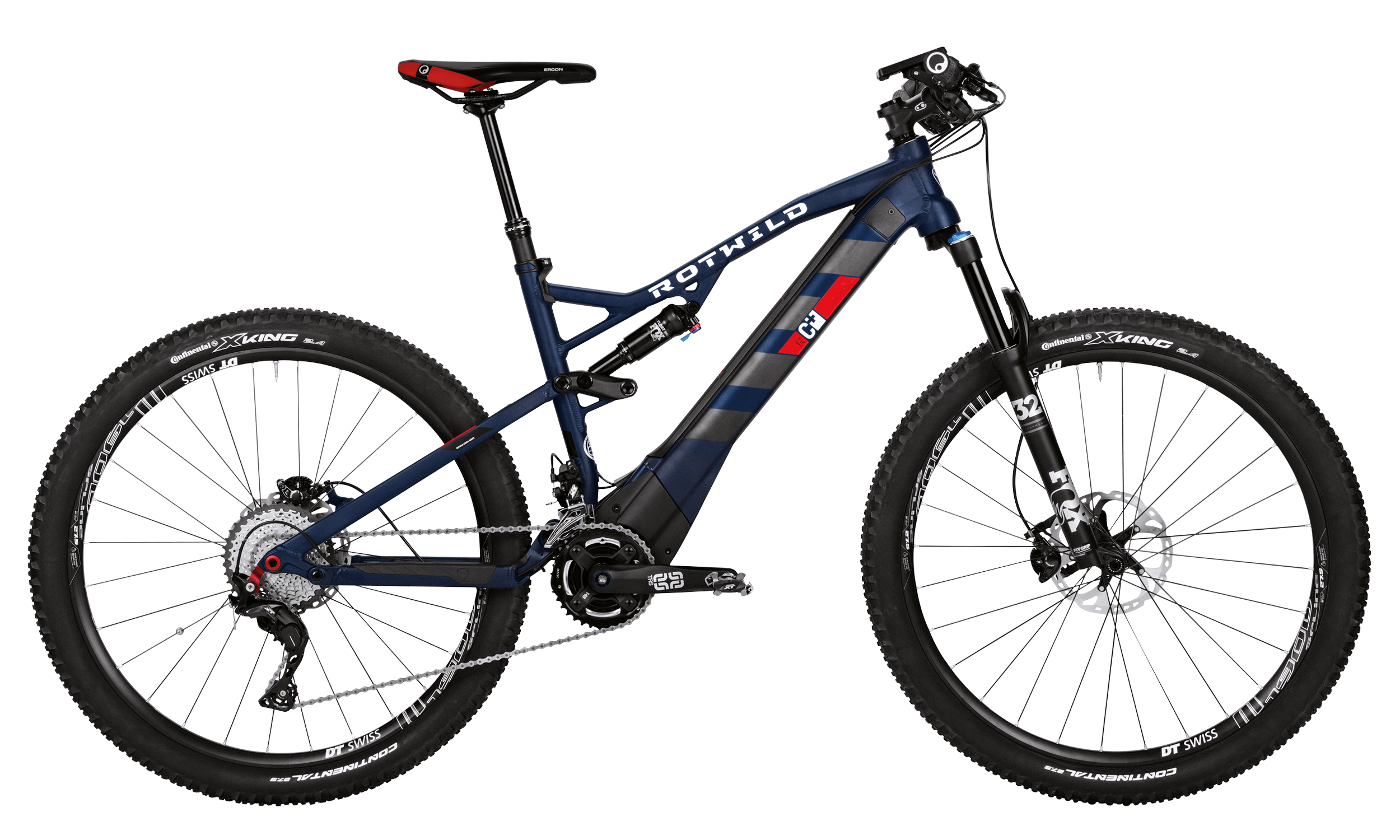 R.C+ FS 27.5 PRO - Blue matt - XL - bike´n soul Shop