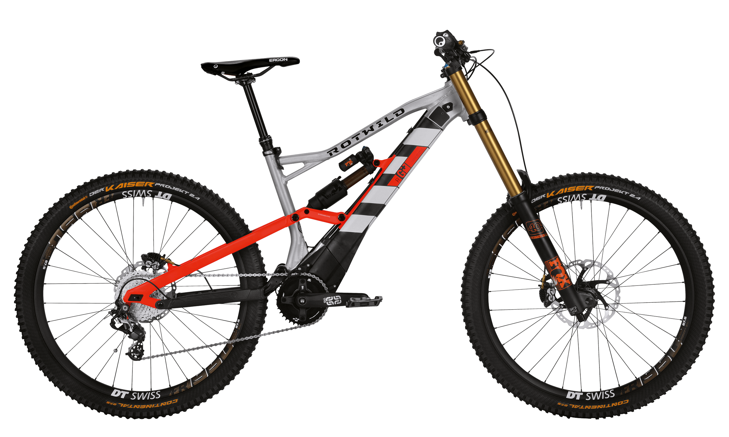 R.G+ FS 27.5 EVO - Raw matt - L - bike´n soul Shop