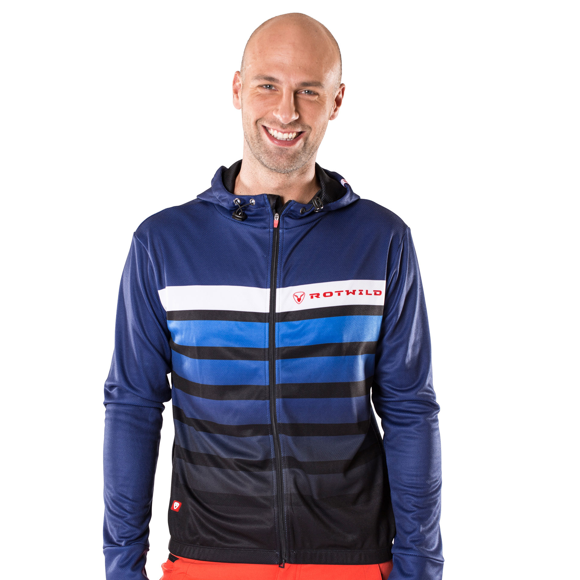 RCD FUNCTIONAL STRIPE HOODIE - L - bike´n soul shop saalbach hinterglemm