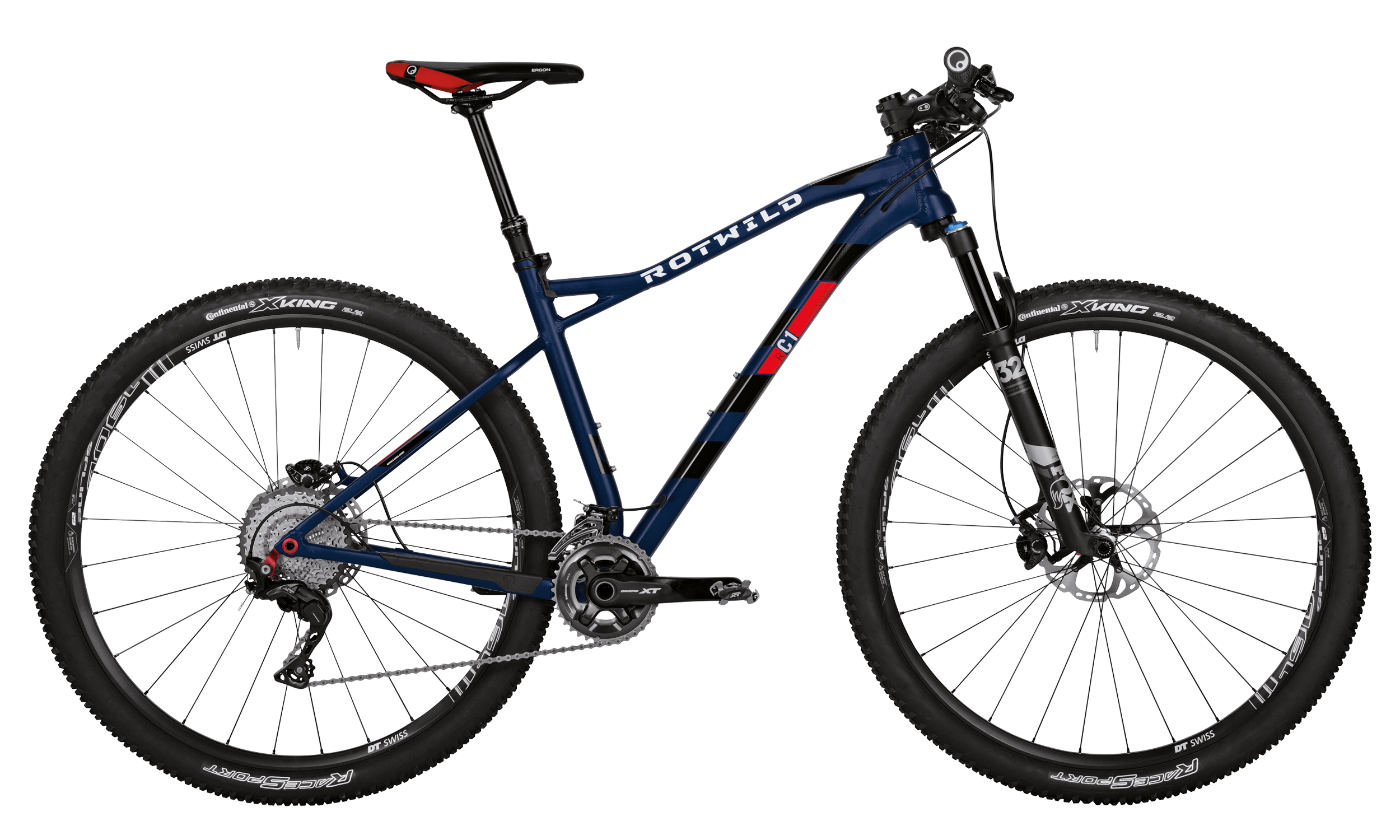 R.C1 HT 29 PRO - Blue matt - XL - bike´n soul Shop
