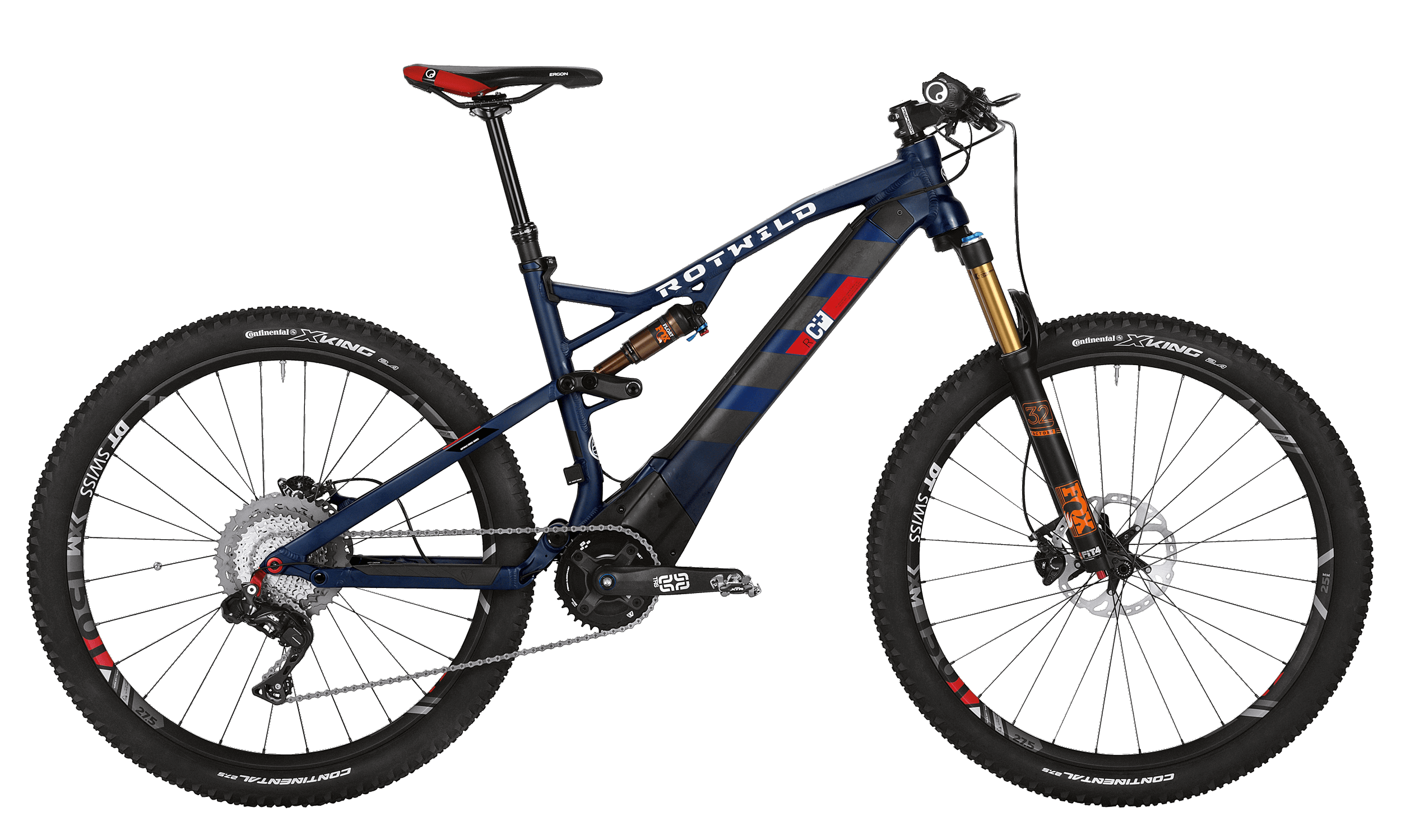R.C+ FS 27.5 EVO - Blue matt - M - bike´n soul Shop