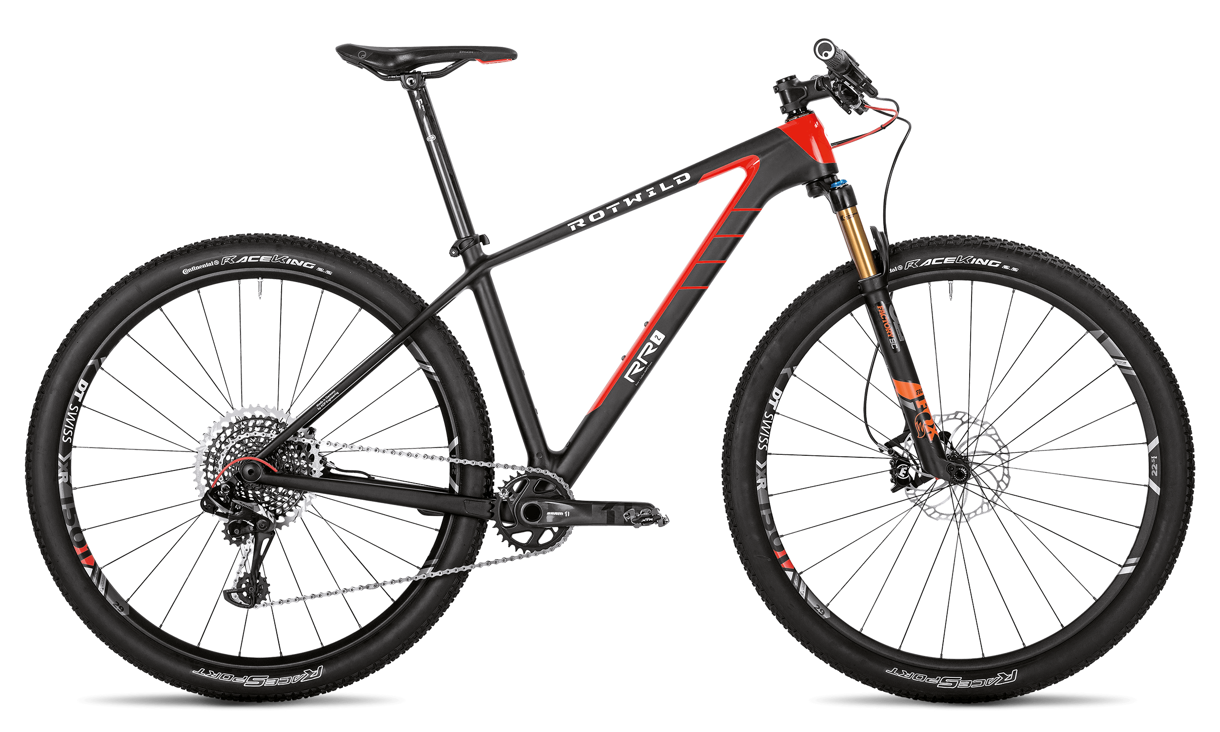 R.R2 ULTRA - carbon / red - XL - Radsport 360