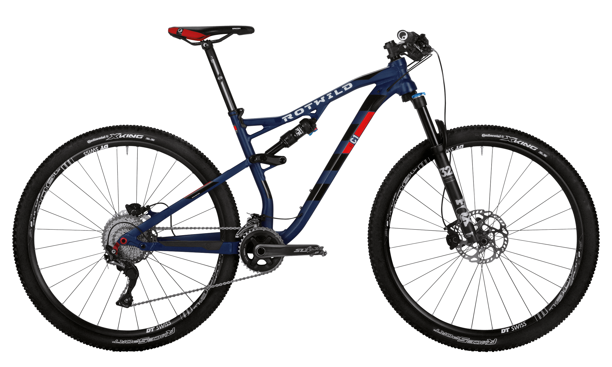 R.C1 FS 29 COMP - Blue matt - L - bike´n soul Shop