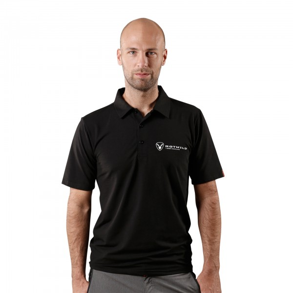 RCD FUNCTIONAL POLOSHIRT, BLACK