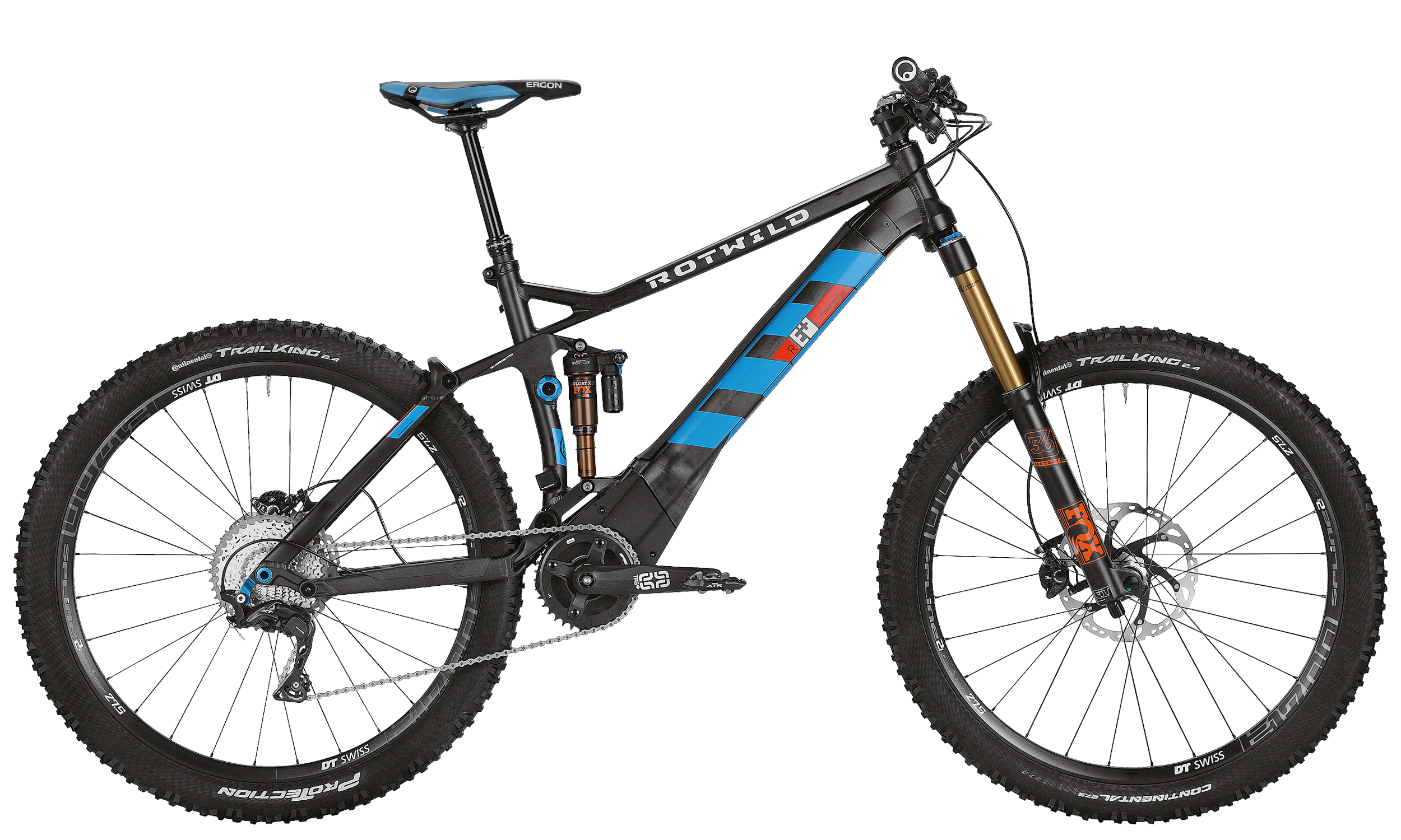 R.E+ FS 27.5 EVO - black matt - L - Bike�n Soul Shop