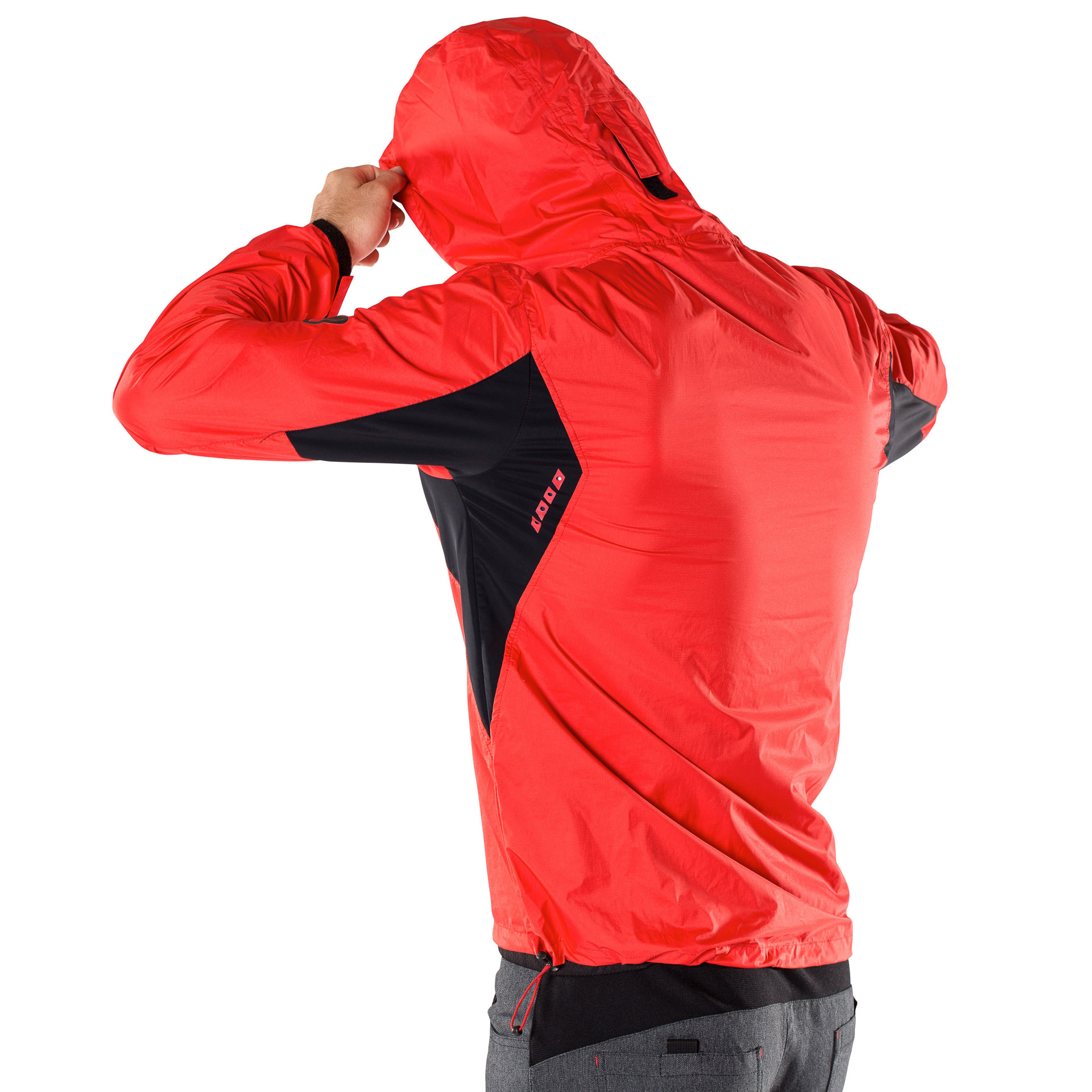 RCD RAINJACKET LIGHT - hot red - XXL - RCD RAINJACKET LIGHT - hot red - XXL