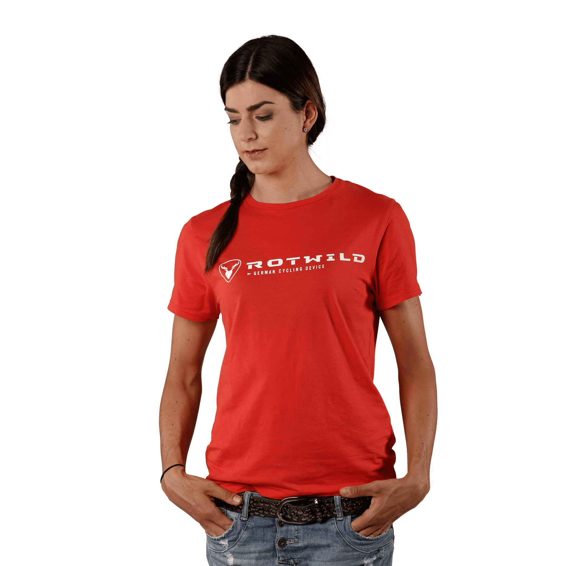 RCD FUNCTIONAL TEE, HOT RED - hot red - L - Radsport 360