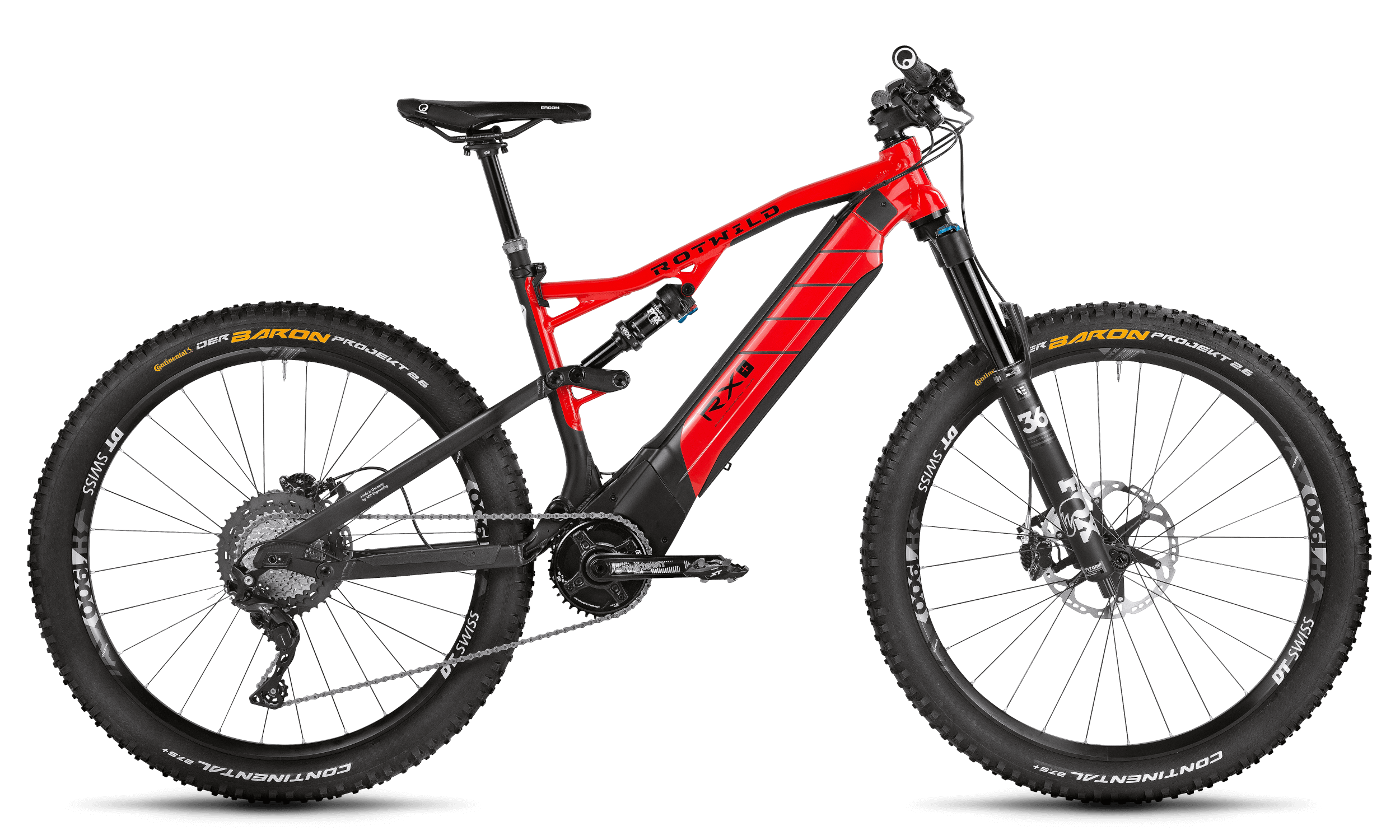 R.X+ TRAIL (27.5) PRO - Red - S - R.X+ TRAIL (27.5) PRO - Red - S