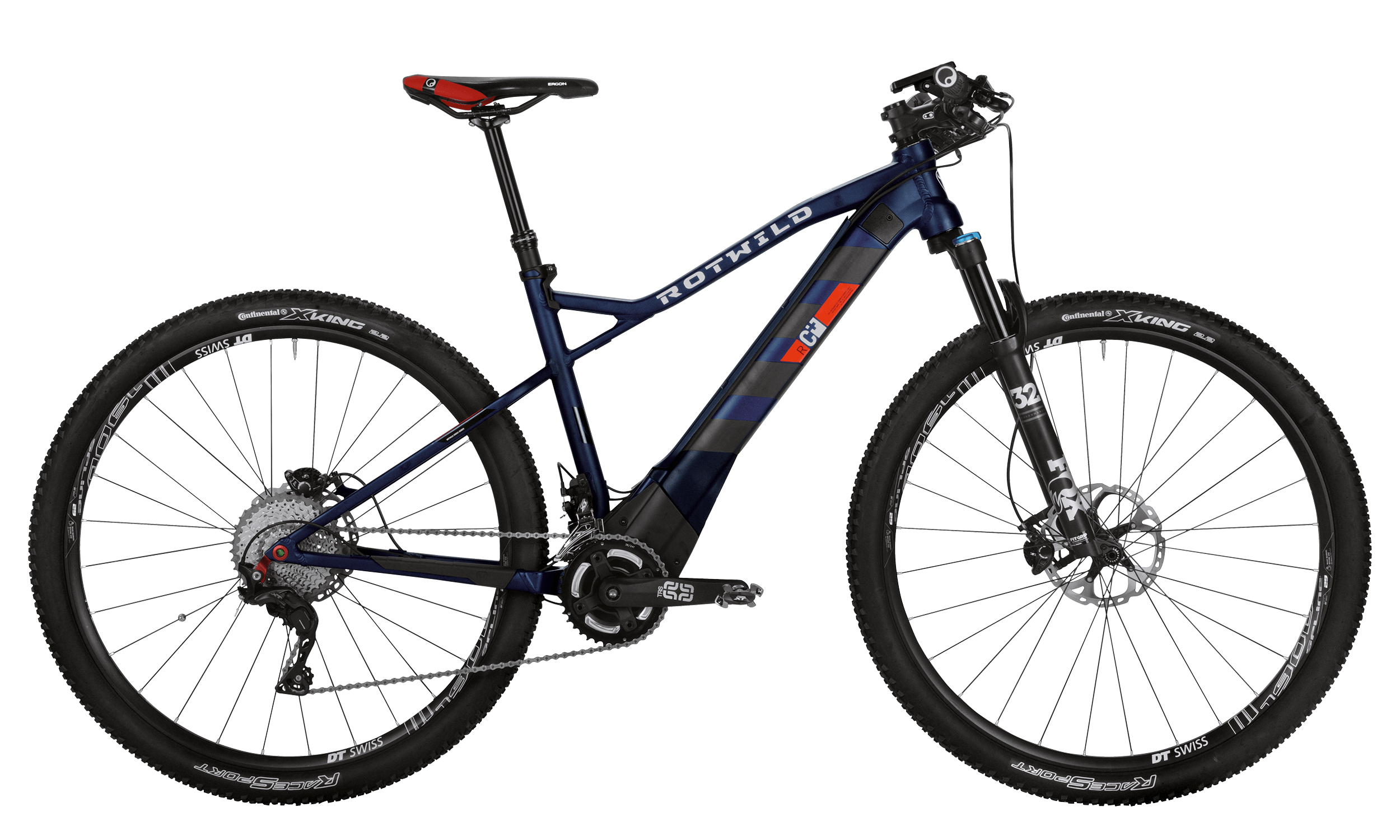 R.C+ HT 29 PRO - Blue matt - M - bike´n soul Shop