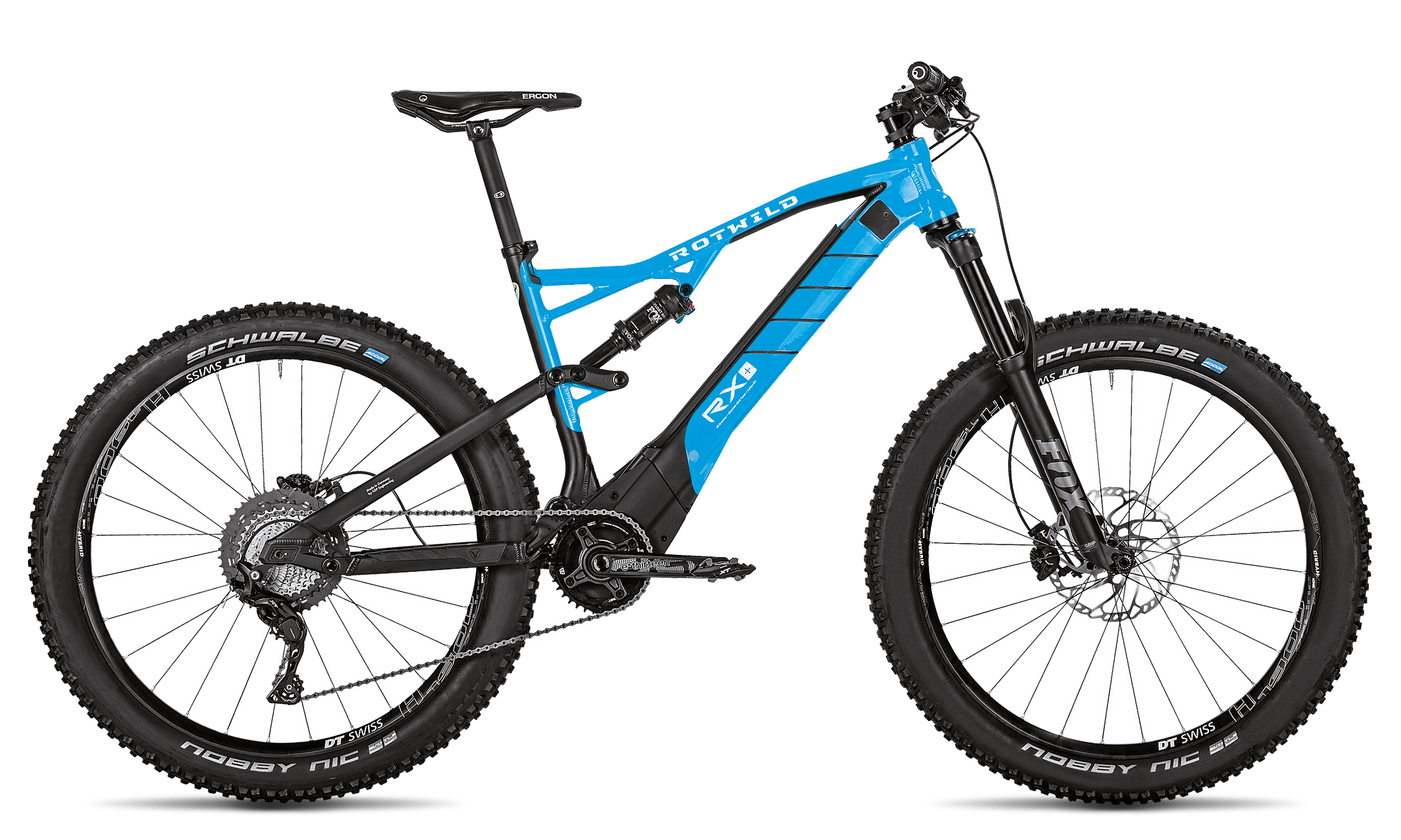 R.X+ TRAIL (27.5) CORE - GLACIER BLUE - S - Radsport 360