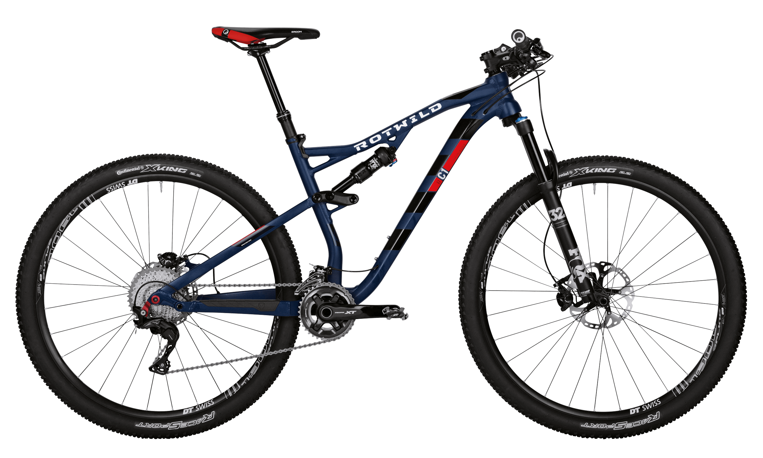 R.C1 FS 29 PRO - Blue matt - L - bike´n soul Shop