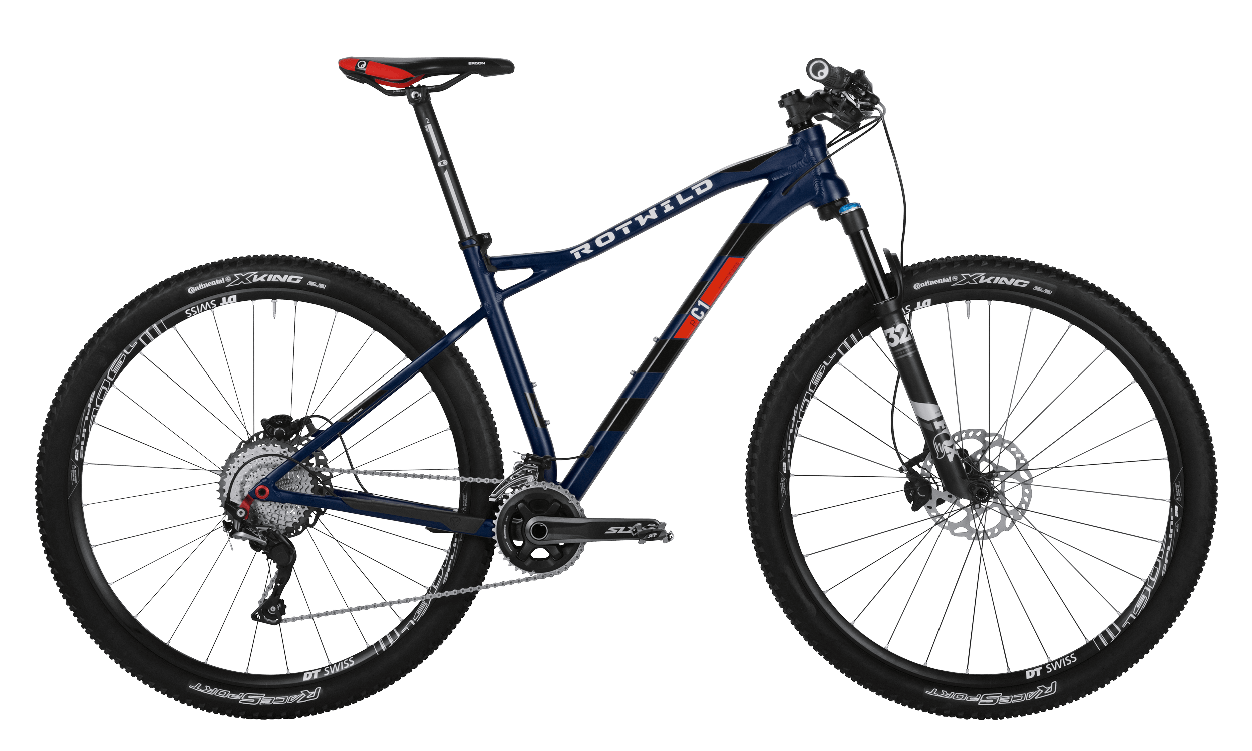 R.C1 HT 29 COMP - Blue matt - XL - bike´n soul Shop