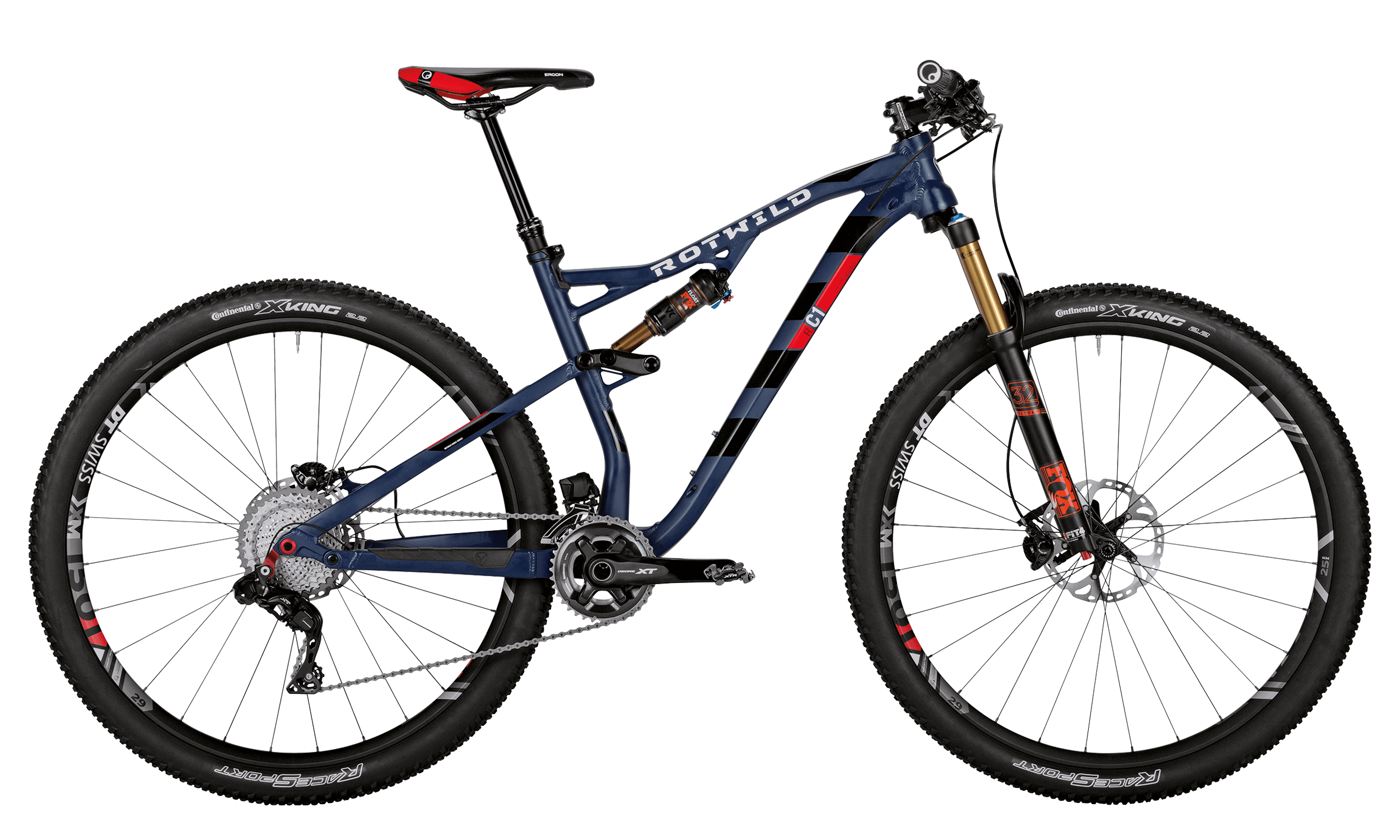 R.C1 FS 29 EVO - Blue matt - M - bike´n soul Shop