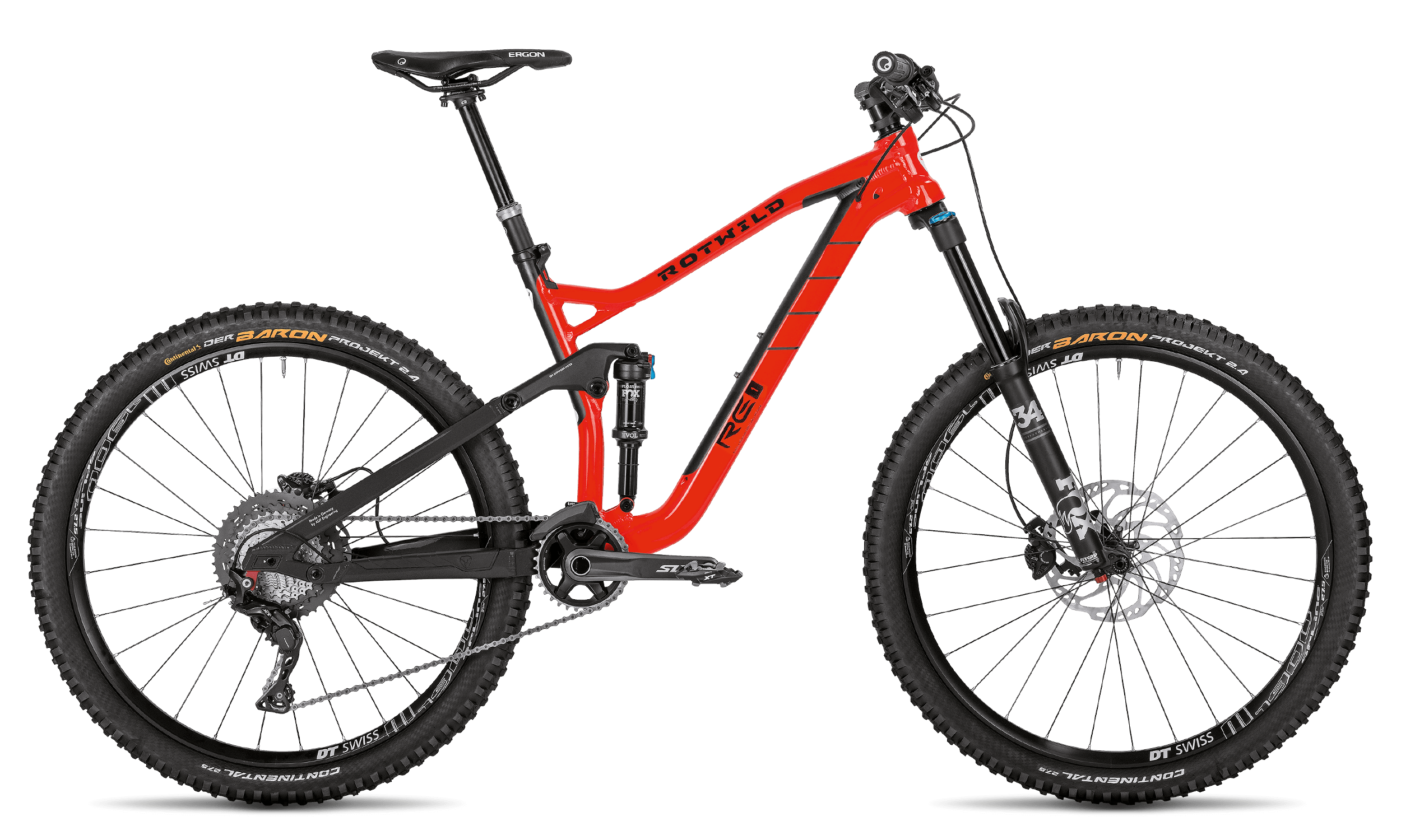 R.E1 CORE - BURNING RED - L - Radsport 360