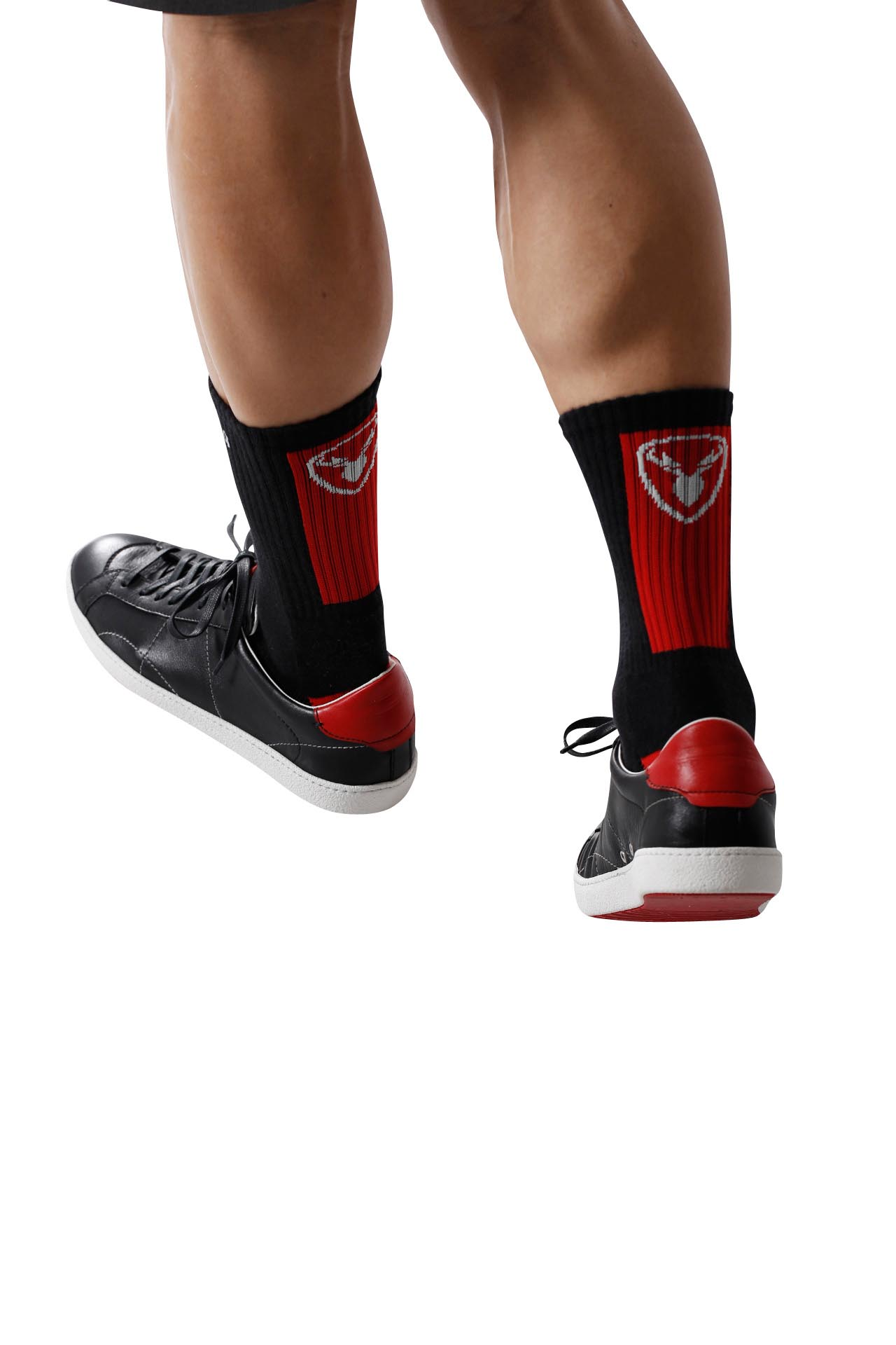 ROTWILD SOCKS HIGH - black/red - L (41-45) - ROTWILD SOCKS HIGH - black/red - L (41-45)