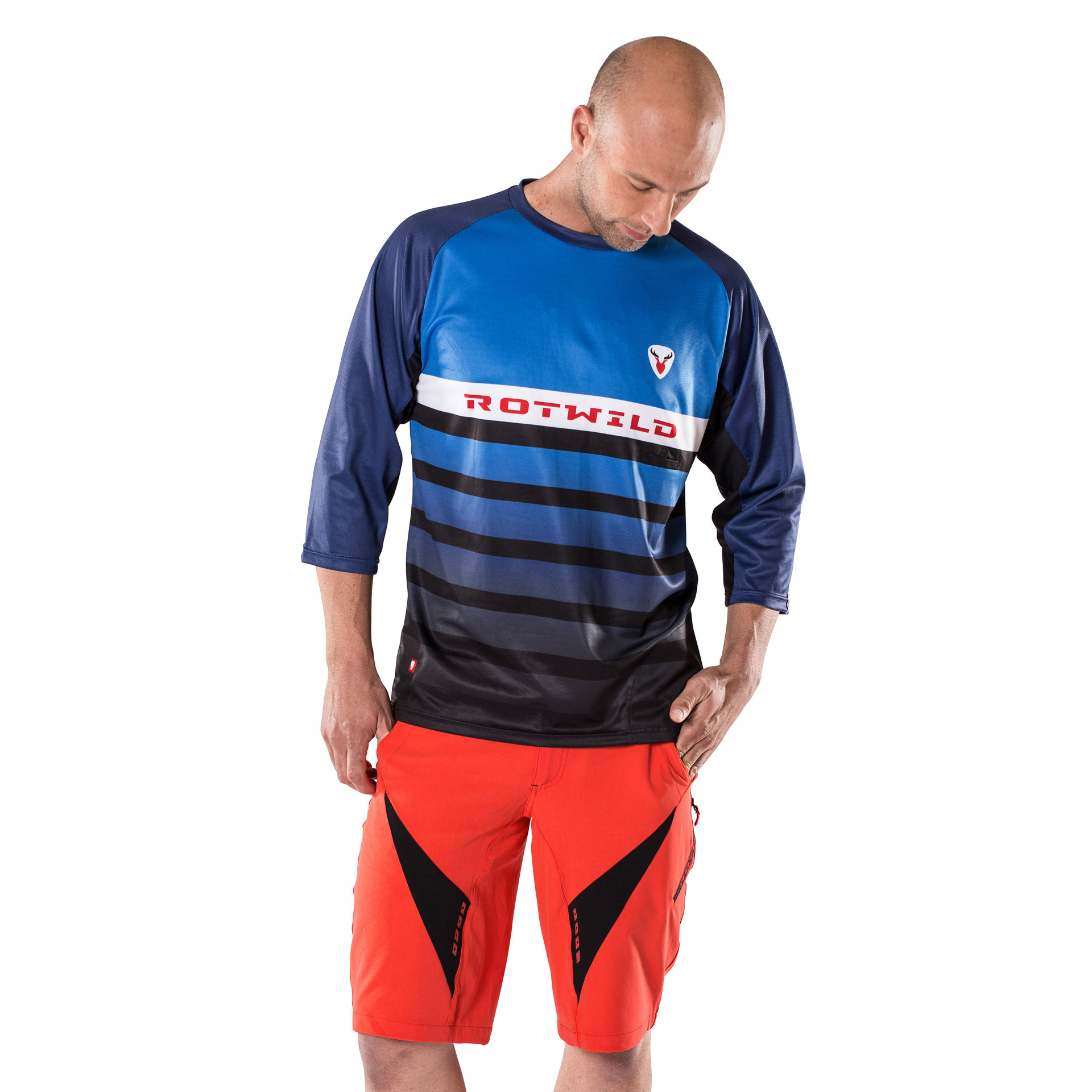RCD ENDURO SHIRT 3/4 - L - RCD ENDURO SHIRT 3/4 - L
