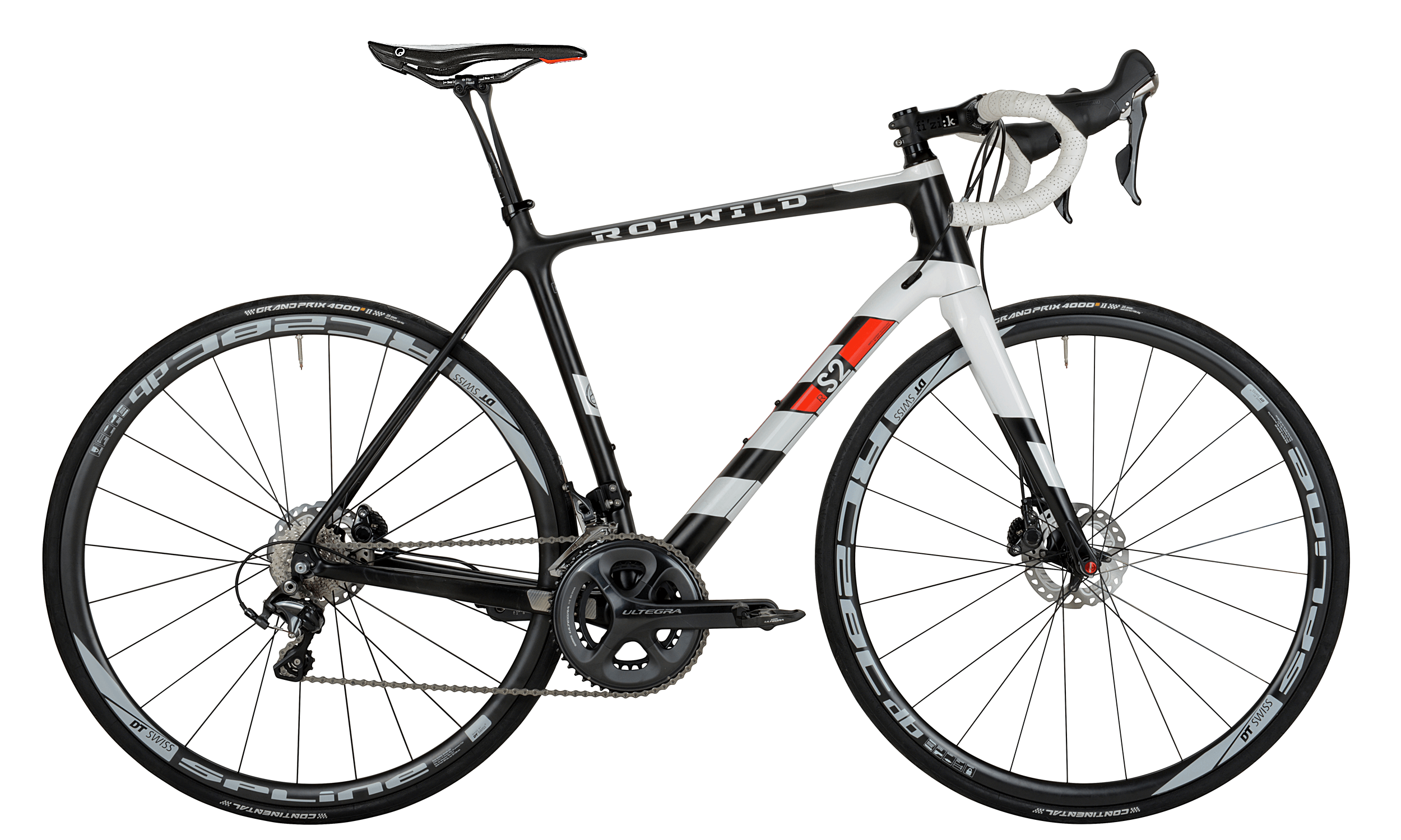 R.S2 700C TEAM - carbon matt / white glossy - L (56) - bike´n soul Shop