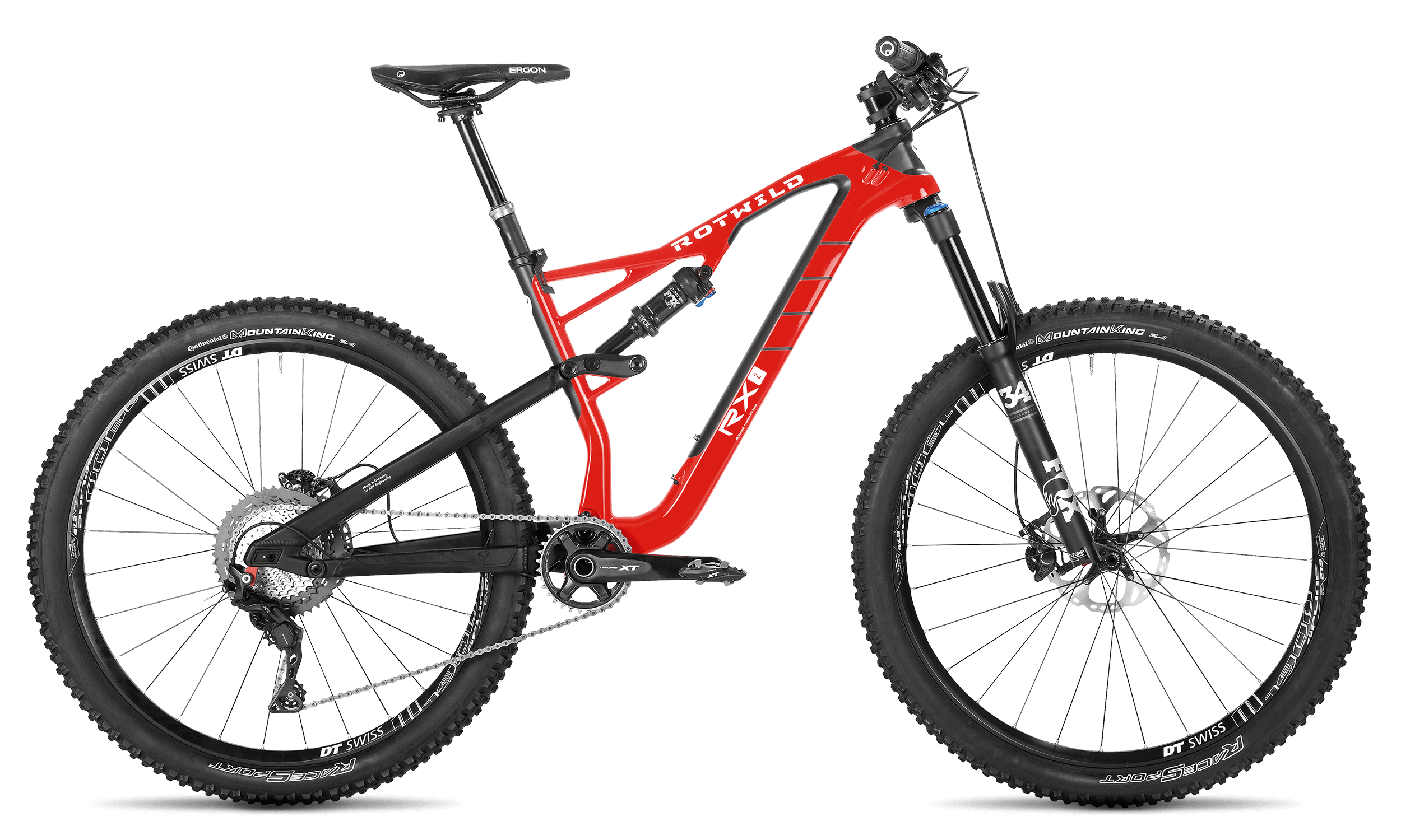 R.X2 TRAIL (27.5) PRO - Red - S - R.X2 TRAIL (27.5) PRO - Red - S