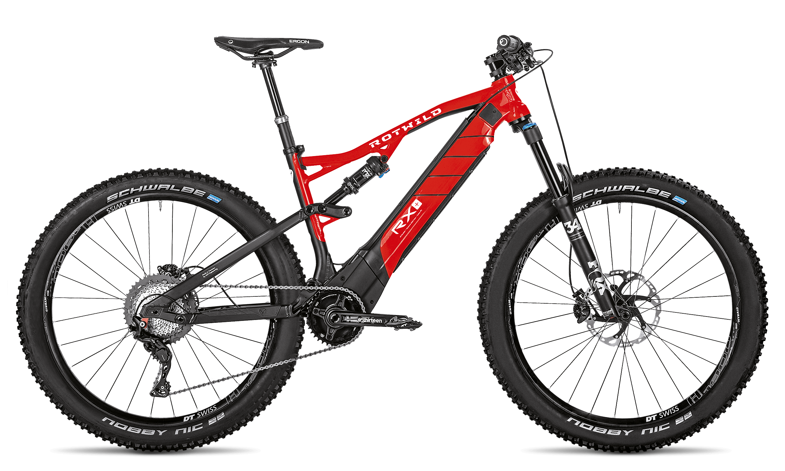 R.X+ TRAIL (27.5) PRO - Red - L - Radsport 360