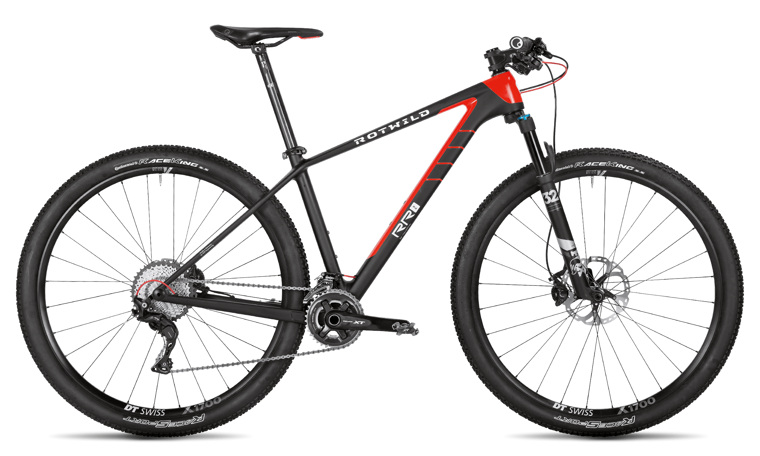 R.R2 PRO - carbon / red - M - Radsport 360