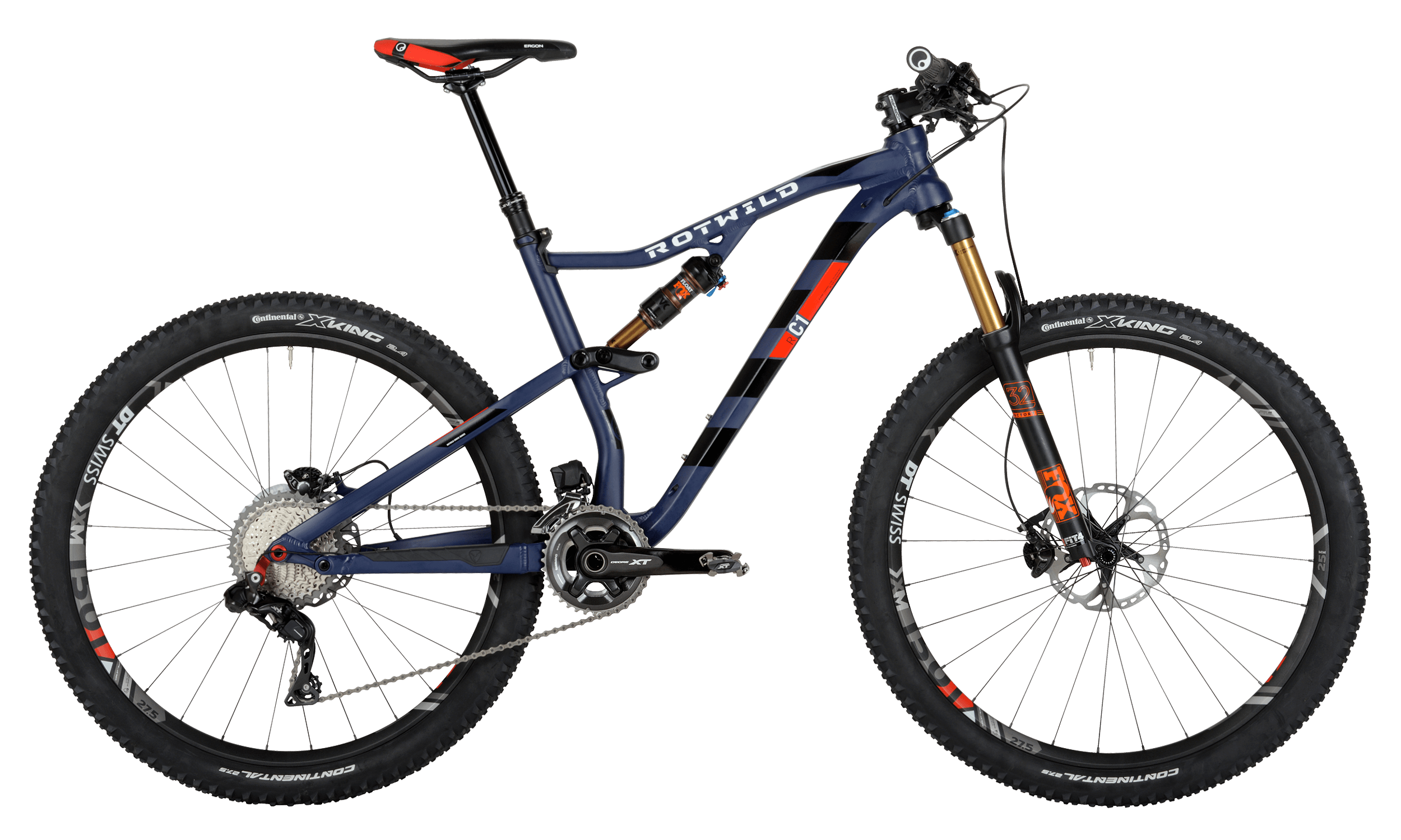 R.C1 FS 27.5 EVO - Blue matt - S - bike´n soul Shop