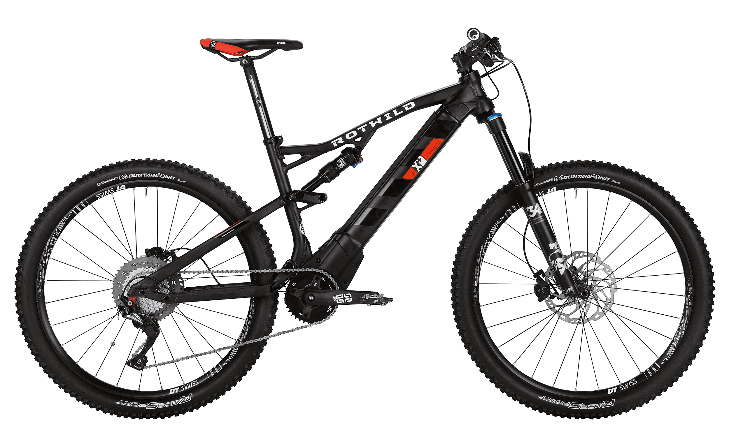 R.X+ FS 27.5 COMP - black matt - L - bike´n soul Shop