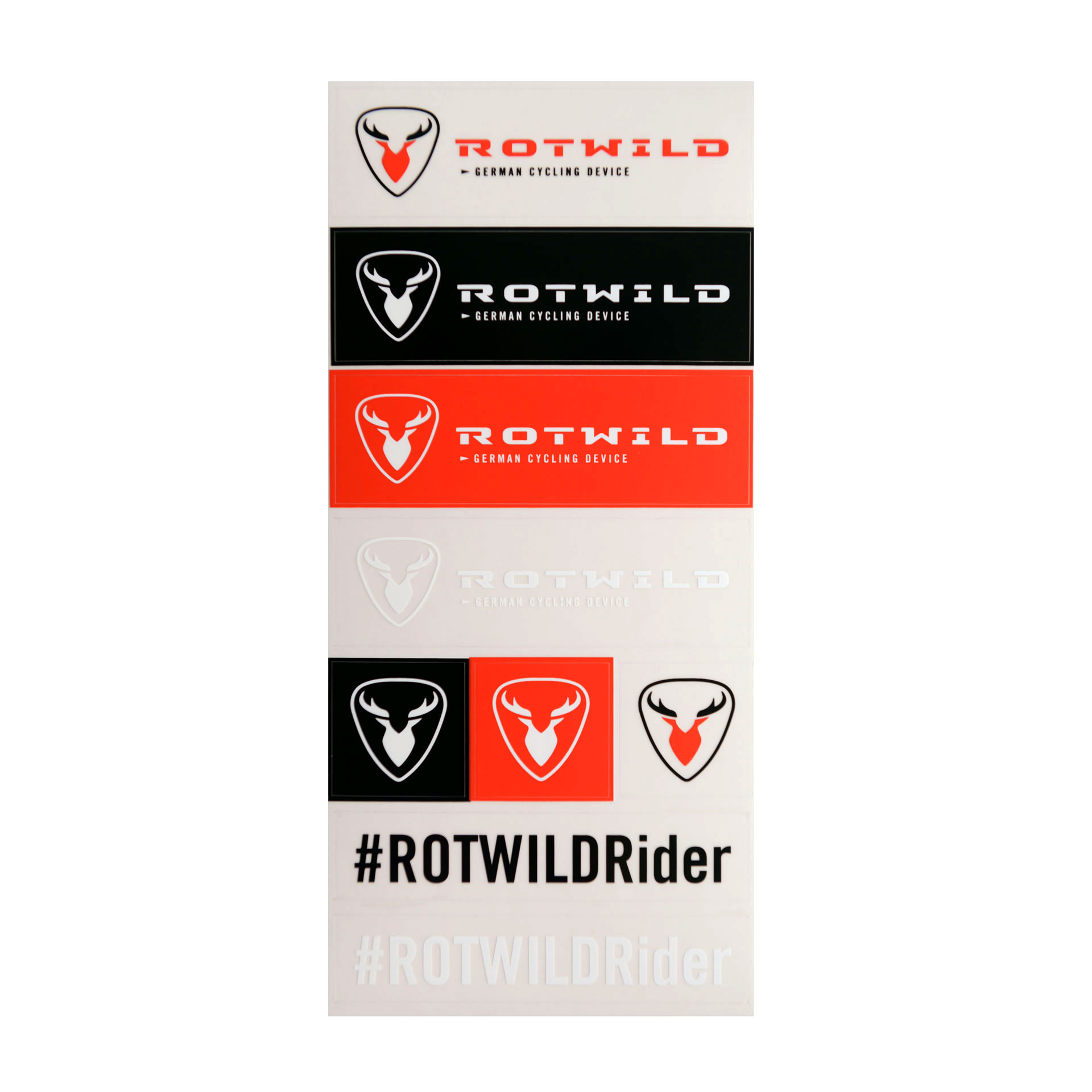 ROTWILD STICKERSET - Radsport 360