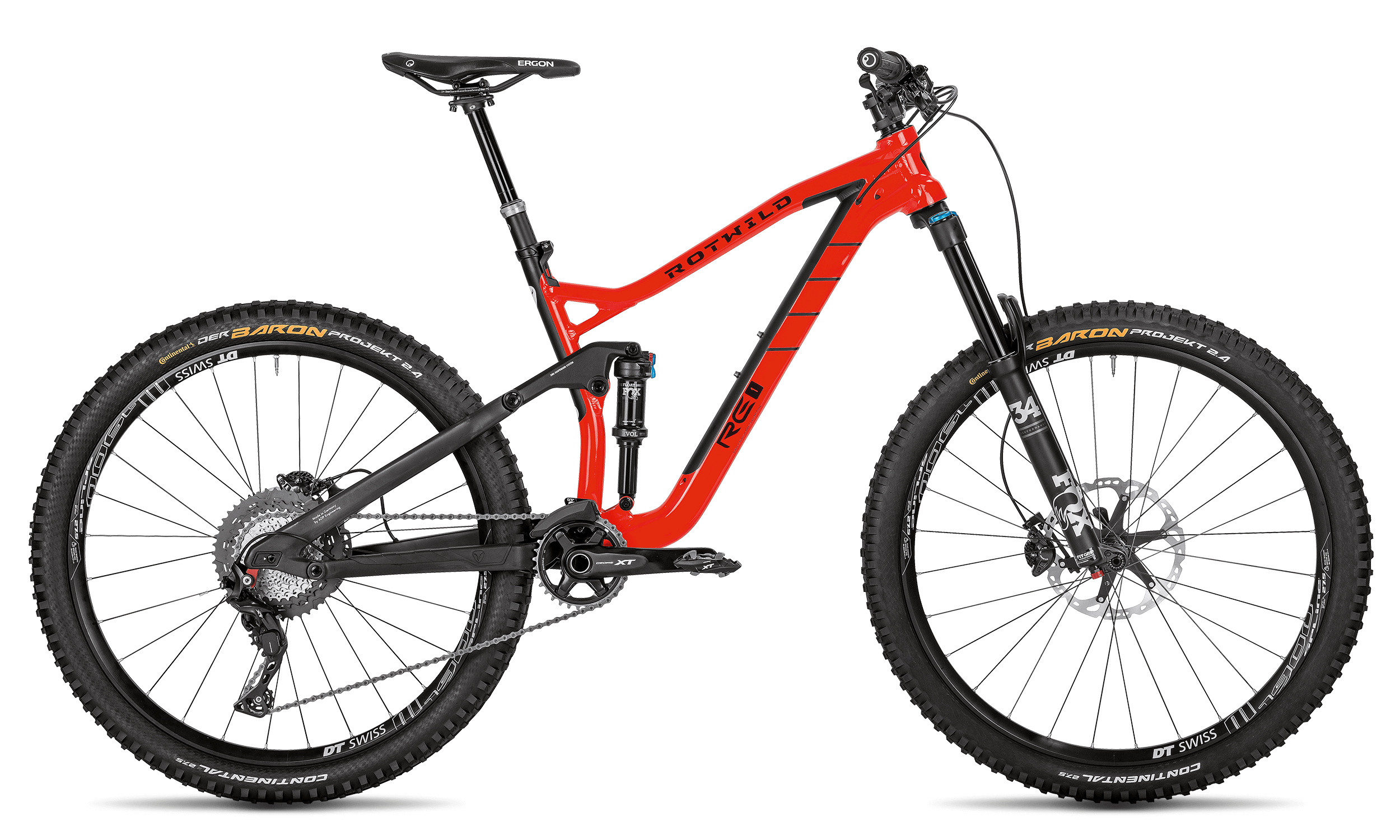 R.E1 PRO - BURNING RED - L - Radsport 360